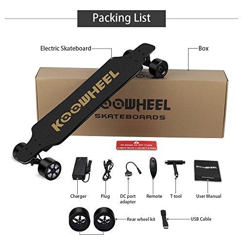 KOOWHEEL : le Skateboard électrique atteignant 40km/h