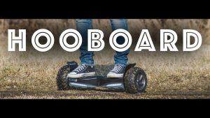 Hooboard – First All Terrain Smart Self Balance Scooter Board, Hoverboard, UL Certified, LG Battery